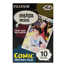 Fuji INSTAX mini / Polaroid 300  COMIC BOOK Instant Film - Free UK Delivery