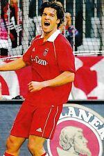 Football Photo>MICHAEL BALLACK Bayern Munich 2005-06