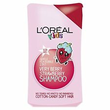 3x LOreal Paris Kids Extra Gentle 2-in-1 Very Berry Strawberry Shampoo, 250ml