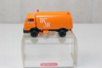 xx1712, Wiking BSR Berlin Berliner Kehrmaschine 1:87 BOX mint Werbemodell GK44c