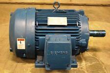 7.5 HP Siemens PE-21 Plus Premium Efficiency Motor 1170 RPM 254T Frame 230/460 V