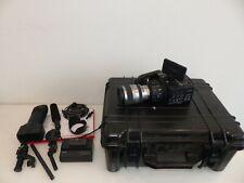 Sony NEX-FS100EK Camcorder + Objektiv SEL18200 18-200mm + Zubehö