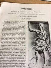 T1-8 Ephemera 1963 Article Polybius S Usher