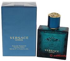 Versace Eros By Versace 1.7oz/50ml Edt Spray For Men New In Box