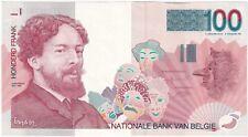 More details for 1995-2001 | belgium 100 francs banknote | banknotes | km coins