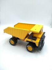 Vintage Remco Toys 1986 Yellow Dump Truck
