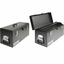 YATO Steel Tool Box 510x220x240mm Garage Organiser Portable Storage Container