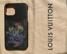 100% Authentic Louis Vuitton Ultra Rare Iphone 11 Pro Bumper/Case
