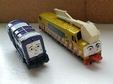 Vintage 2001 Thomas & Friends ERTL Diesel 10 And Splatter Diecast Lot Train