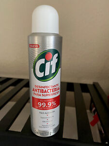 CIF DESINFECTANTE ANTIBACTERIAL Elimina 99.9% Viruses, 150 Ml De Bolsillo 70%alc