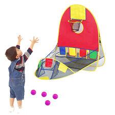 110 * 107CM Waterproof Cloth Steel Frame Children Fun Basketball Tent House