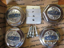 1967 1968 FORD MUSTANG SHELBY OR Mercury Cougar XR7 CRAGER GT WHEEL CENTERS