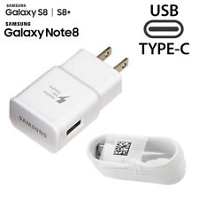 Original Samsung Galaxy S8 S8 Plus Note 8 Adaptive Fast Wall Charger +Type-C OEM