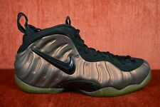 CLEAN NIKE AIR FOAMPOSITE PRO MENS GYM GREEN 624041 302 Size 8 Brown