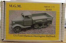 MGM 080-085 1/72 Resin WWII US Ford-Marmon-Herrington Halftrack