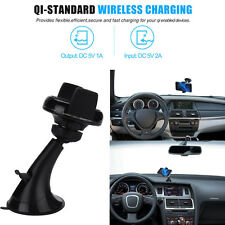 Wireless Qi Car Charger Holder Desk Stand Mount For Samsung Galaxy S8&S8 Plus