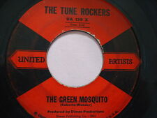 "THE TUNE ROCKERS  ""THE GREEN MOSQUITO""   45 RPM Vinyl  Record music  ""WARM UP"""