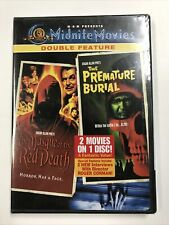 The Masque of the Red Death / Premature Burial (DVD) * Vincent Price * Sealed