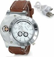 Avaner 2-in-1 Mens Novelty Military Analog Quartz Wrist Watch Rubber Strap with