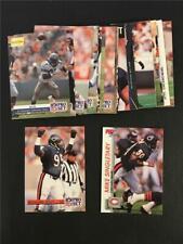 1992 Pro Set Chicago Bears Team Set 24 Cards