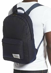 Barbour Men's Waxed Canvas Backpack Travel Packable Water Resistant