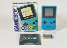 Nintendo Game Boy Color Konsole,Türkis / Blau in OVP,guter Zustand