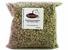 LAVANTA COFFEE GREEN INDIA MONSOONED MALABAR AA COFFEE TWO POUND PACKAGE