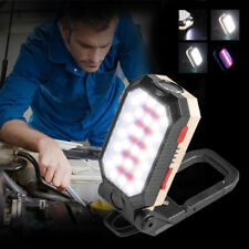 Magnetic LED Work Light USB Rechargeable Inspection Flashlight Flood Lamp stand