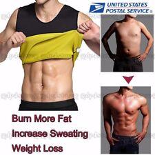 Gym Chest Belly Sport Shaper Thermo Waist Boobs Cincher Compression Men Trainer