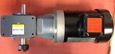 Boston Gear Motor 700 Series AT34-18-56CB BTN56RT17F3/4C QC721-20-B5-H Reducer