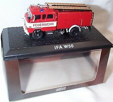 Atlas Fire truck Collection IFA W50 approx 1-72 Scale New in case boxed