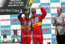 Eddie Irvine & Rubens Barrichello Jordan F1 Canadian Grand Prix 1995 Photograph