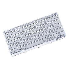 New Russian RU Keyboard for Sony vaio  E Series SVE14A SVE141 White Frame