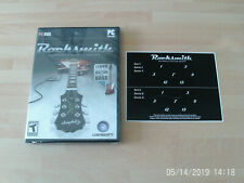 rocksmith game & rocksmith CABLE    new&sealed