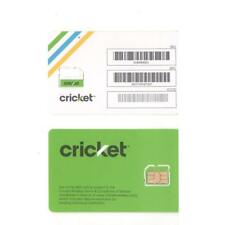 New Cricket 4g LTE Micro SIM Card READY FOR ACTIVATION