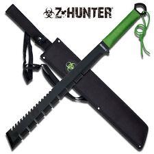 Z-Hunter Green Cord Wrapped Zombie Hunter Stainless Steel Machete #064