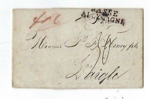 Basse Allemagne, Barmen Germany Early Stampless