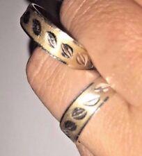 14k Solid Gold Ring Wedding Band Set Ring Size7 9.5 456789 10 11 Free Engraving