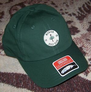 NEW AMERICAN NEEDLE LIGHTWEIGHT Cap Hat MERION GOLF CLUB Logo Green Adjustable