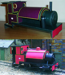 16mm SM32 or G gauge garden railway Locolines Corris Hughes loco COMPLETE KIT