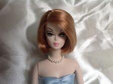 Barbie Schmuck, Halskette/ Perlenkette creme weiß für Vintage/ Silkstone Puppen