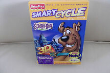 Fisher Price Smart Cycle Physical Learning Arcade SCOOBY DOO 3D Racing Game