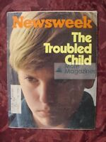 NEWSWEEK April 8 1974 Apr 4/8/74 THE TROUBLED CHILD / Steven Spielberg
