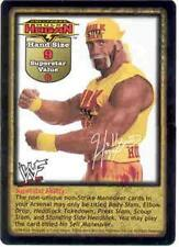 Raw Deal Hulk Hogan Non-foil Face Card Promo 19/PR