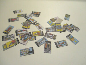 DOLLS HOUSE MINIATURE WITCHES TAROT CARDS CC