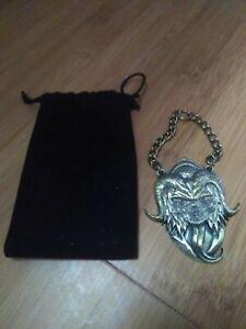 Metal Krampus Medallion Ornament - Loot Fright Exclusive