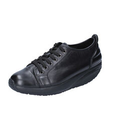 womens shoes MBT AFIYA 5S 3,5 (EU 36) sneakers black leather performance BT64-36