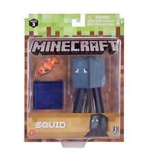 Minecraft Figur Spielset Tintenfisch mit Accessoire Jazwares 16482