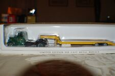 """1/50 SCALE WHITE """"WC"""" TRUCK WITH LOWBOY READING LINES NEW"""