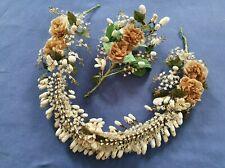 Couronne et bouquet de mariée époque 19 ème - 14899